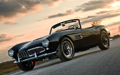 1957 BMW 507 Series 2 wallpaper thumbnail.