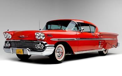 1958 Chevrolet Bel Air Impala wallpaper thumbnail.