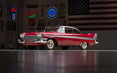 "1958 Plymouth Fury ""Christine"" wallpaper thumbnail."