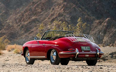 1959 Porsche 356B wallpaper thumbnail.