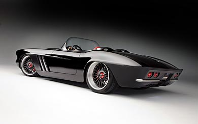 1962 Chevrolet Corvette C1 RS By Roadster Shop wallpaper thumbnail.