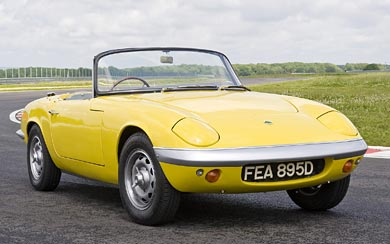 1962 Lotus Elan wallpaper thumbnail.