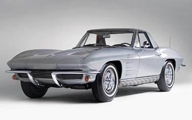 1963 – 1967 Chevrolet C2 Corvette wallpaper thumbnail.