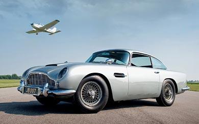 1964 Aston Martin DB5 wallpaper thumbnail.