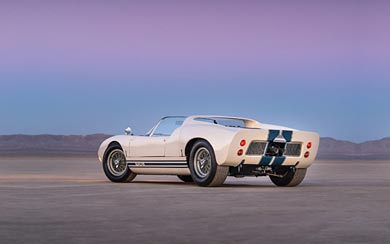 1965 Ford GT Roadster Prototype wallpaper thumbnail.