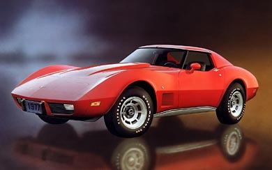 1968 – 1982 Chevrolet C3 Corvette wallpaper thumbnail.