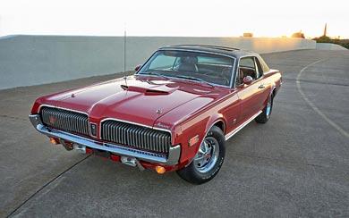 1968 Mercury Cougar XR-7 wallpaper thumbnail.