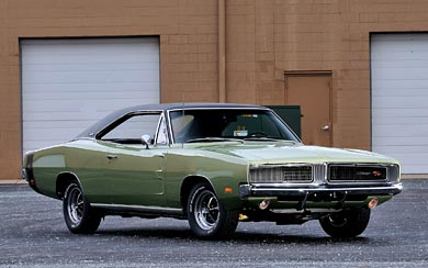 1969 Dodge Charger R/T wallpaper thumbnail.