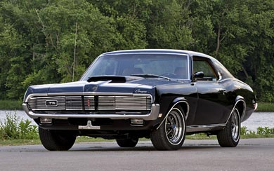 1969 Mercury Cougar XR-7 wallpaper thumbnail.