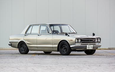 1969 Nissan Skyline 2000GT-R Sedan wallpaper thumbnail.