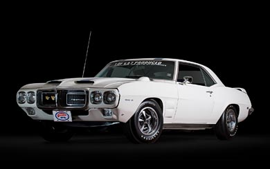 1969 Pontiac Firebird Trans-Am Coupe wallpaper thumbnail.
