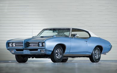 1969 Pontiac GTO Hardtop Coupe wallpaper thumbnail.