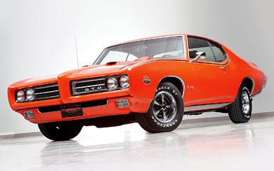 1969 Pontiac GTO Judge wallpaper thumbnail.