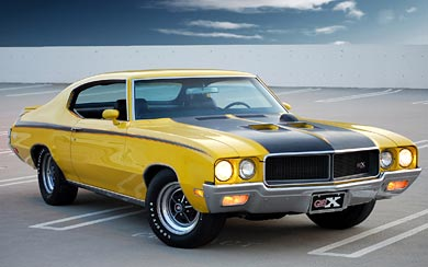 1970 Buick GSX wallpaper thumbnail.