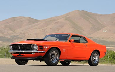 1970 Ford Mustang Boss 429 wallpaper thumbnail.