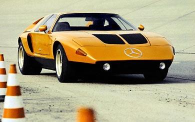 1970 Mercedes-Benz C111 Concept wallpaper thumbnail.