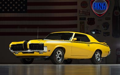1970 Mercury Cougar Eliminator wallpaper thumbnail.