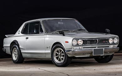 1970 Nissan Skyline 2000GT-R Coupe wallpaper thumbnail.