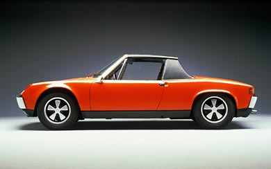 1970 Porsche 914 wallpaper thumbnail.