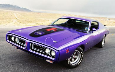 1971 Dodge Charger Super Bee wallpaper thumbnail.