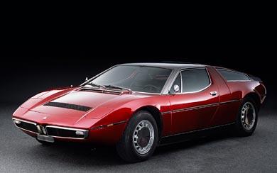 1971 Maserati Bora wallpaper thumbnail.