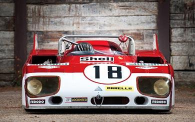 1972 Alfa Romeo Tipo 33 TT3 wallpaper thumbnail.