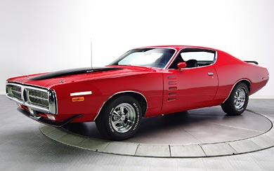 1972 Dodge Charger Rallye 340 Magnum wallpaper thumbnail.