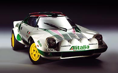 1972 Lancia Stratos Group 4 wallpaper thumbnail.