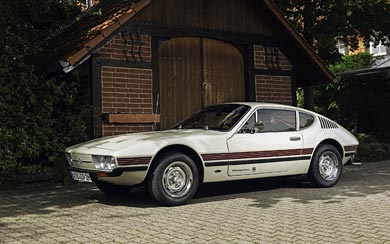 1972 Volkswagen SP2 wallpaper thumbnail.