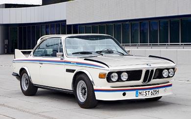 1973 BMW 3.0 CSL E9 wallpaper thumbnail.