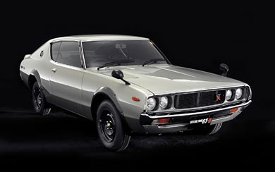 1973 Nissan Skyline 2000GT-R wallpaper thumbnail.