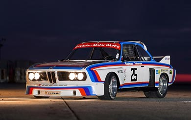 1975 BMW 3.0 CSL Race Car wallpaper thumbnail.