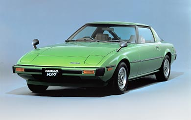 1978 Mazda RX-7 wallpaper thumbnail.