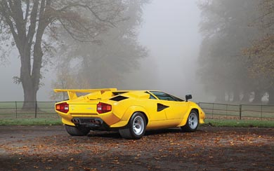 1981 Lamborghini Countach LP400 S wallpaper thumbnail.