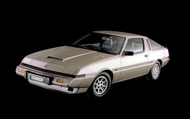 1982 Mitsubishi Starion Turbo wallpaper thumbnail.