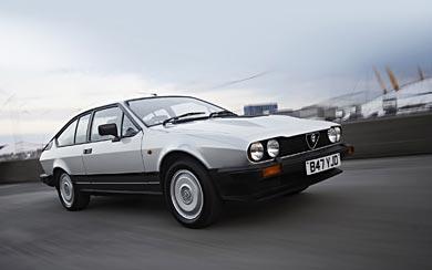 1983 Alfa Romeo GTV6 wallpaper thumbnail.