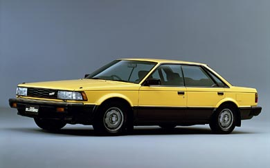 1983 Nissan Bluebird SSS wallpaper thumbnail.