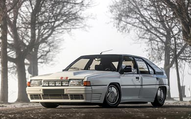 1985 Citroen BX 4TC wallpaper thumbnail.