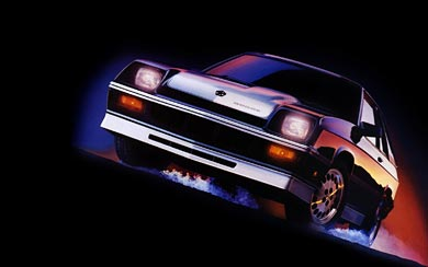 1985 Dodge Shelby Charger wallpaper thumbnail.