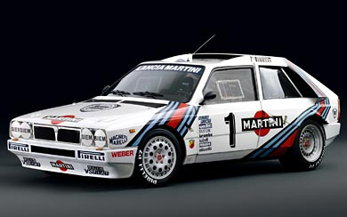 1985 Lancia Delta S4 Group B wallpaper thumbnail.