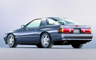 1985 Mazda RX-7 wallpaper thumbnail.