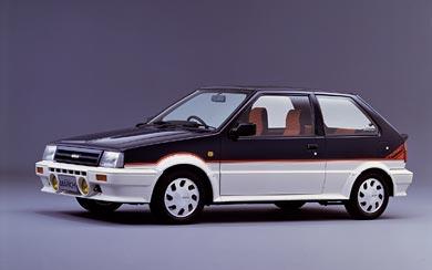 1985 Nissan March Turbo wallpaper thumbnail.