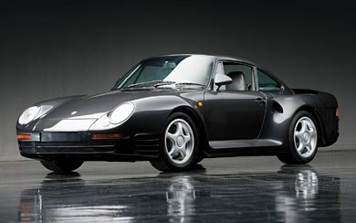 1986 Porsche 959 wallpaper thumbnail.