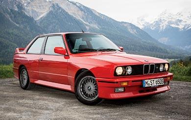 1987 BMW M3 wallpaper thumbnail.