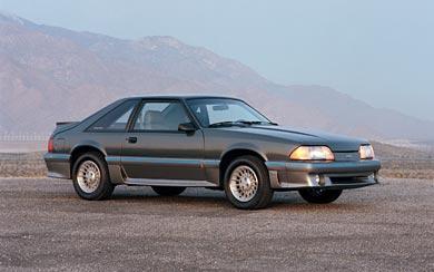 1987 Ford Mustang GT wallpaper thumbnail.
