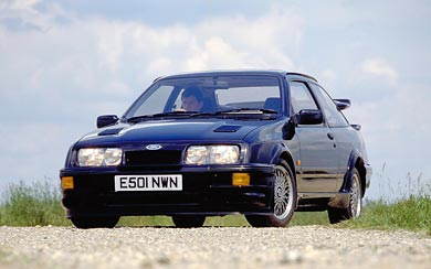 1987 Ford Sierra RS500 Cosworth wallpaper thumbnail.