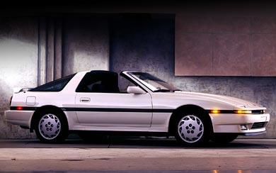 1987 Toyota Supra wallpaper thumbnail.