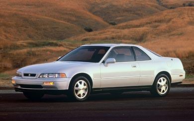 1988 Acura Legend Coupe wallpaper thumbnail.