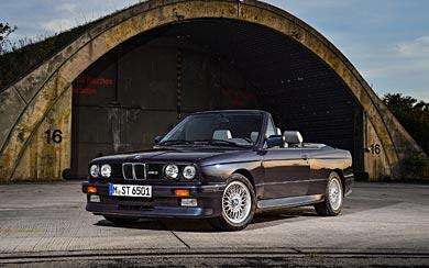 1988 BMW M3 Cabrio wallpaper thumbnail.