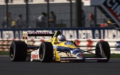 1988 Williams FW12 wallpaper thumbnail.